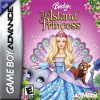 Barbie as the Island Princess Nintendo Game Boy Advance cover artwork