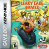 Camp Lazlo - Leaky Lake Games Nintendo Game Boy Advance cover artwork