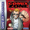 Comix Zone Nintendo Game Boy Advance cover artwork