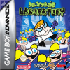 Dexter's Laboratory - Deesaster Strikes! Nintendo Game Boy Advance cover artwork