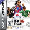 FIFA Soccer 06 Nintendo Game Boy Advance cover artwork