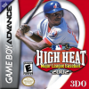 High Heat Major League Baseball 2002 Nintendo Game Boy Advance cover artwork
