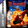 Incredibles, The - Rise of the Underminer Nintendo Game Boy Advance cover artwork