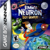 Jimmy Neutron Boy Genius Nintendo Game Boy Advance cover artwork