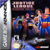 Justice League - Injustice for All Nintendo Game Boy Advance cover artwork