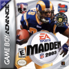 Madden NFL 2003 Nintendo Game Boy Advance cover artwork