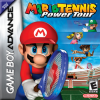 Mario Power Tennis Nintendo Game Boy Advance cover artwork