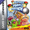 Muppet Pinball Mayhem Nintendo Game Boy Advance cover artwork