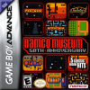 Namco Museum - 50th Anniversary Nintendo Game Boy Advance cover artwork
