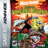 Nicktoons - Battle for Volcano Island Nintendo Game Boy Advance cover artwork