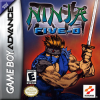 Ninja Five-0 Nintendo Game Boy Advance cover artwork