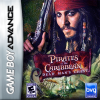 Pirates of the Caribbean - Dead Man's Chest Nintendo Game Boy Advance cover artwork