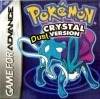Pokemon Crystal Dust Nintendo Game Boy Advance cover artwork
