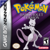 Pokemon Dark Violet Nintendo Game Boy Advance cover artwork
