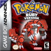 Pokemon - Ruby Version Nintendo Game Boy Advance cover artwork