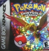 Pokemon Shiny Gold Nintendo Game Boy Advance cover artwork