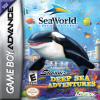 Shamu's Deep Sea Adventures Nintendo Game Boy Advance cover artwork