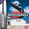 Shaun Palmer's Pro Snowboarder Nintendo Game Boy Advance cover artwork