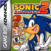 Sonic Advance 2 Nintendo Game Boy Advance cover artwork