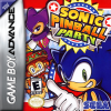 Sonic Pinball Party Nintendo Game Boy Advance cover artwork