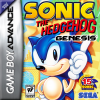 Sonic the Hedgehog - Genesis Nintendo Game Boy Advance cover artwork