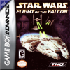 Star Wars - Flight of the Falcon Nintendo Game Boy Advance cover artwork