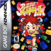 Super Puzzle Fighter II Turbo Nintendo Game Boy Advance cover artwork