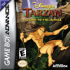 Tarzan - Return to the Jungle Nintendo Game Boy Advance cover artwork