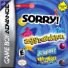 Three-in-One Pack - Sorry! + Aggravation + Scrabble Junior Nintendo Game Boy Advance cover artwork