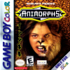 Animorphs Nintendo Game Boy Color cover artwork