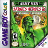 Army Men - Sarge's Heroes 2 Nintendo Game Boy Color cover artwork
