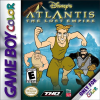 Atlantis - The Lost Empire Nintendo Game Boy Color cover artwork