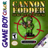 Cannon Fodder Nintendo Game Boy Color cover artwork