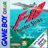 F-18 Thunder Strike Nintendo Game Boy Color cover artwork