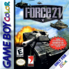 Force 21 Nintendo Game Boy Color cover artwork