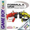 Formula One 2000 Nintendo Game Boy Color cover artwork