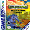 Godzilla - The Series - Monster Wars Nintendo Game Boy Color cover artwork