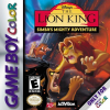 Lion King, The - Simba's Mighty Adventure Nintendo Game Boy Color cover artwork