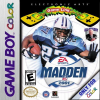 Madden NFL 2001 Nintendo Game Boy Color cover artwork