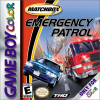 Matchbox Emergency Patrol Nintendo Game Boy Color cover artwork