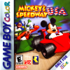 Mickey's Speedway USA Nintendo Game Boy Color cover artwork