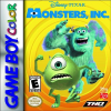 Monsters, Inc. Nintendo Game Boy Color cover artwork