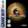 Mortal Kombat 4 Nintendo Game Boy Color cover artwork
