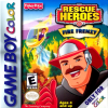 Rescue Heroes - Fire Frenzy Nintendo Game Boy Color cover artwork