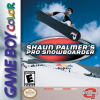 Shaun Palmer's Pro Snowboarder Nintendo Game Boy Color cover artwork