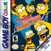 Simpsons, The - Night of the Living Treehouse of Horror Nintendo Game Boy Color cover artwork