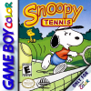 Snoopy Tennis Nintendo Game Boy Color cover artwork