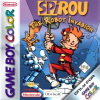 Spirou Robbedoes - The Robot Invasion Nintendo Game Boy Color cover artwork
