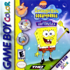 SpongeBob SquarePants - Legend of the Lost Spatula Nintendo Game Boy Color cover artwork