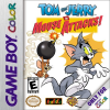 Tom and Jerry in Mouse Attacks! Nintendo Game Boy Color cover artwork